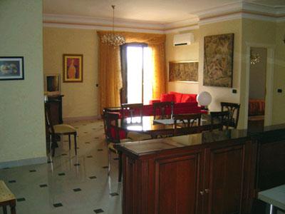 Villa Florentia - Appartamento 07 - Salone