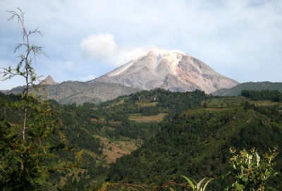 Pico Duarte Top Caribbean Mountain Dominican Republic